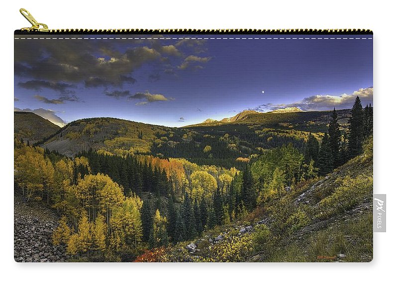 Landscape Carry-all Pouch featuring the photograph Morning Delight by Bill Sherrell