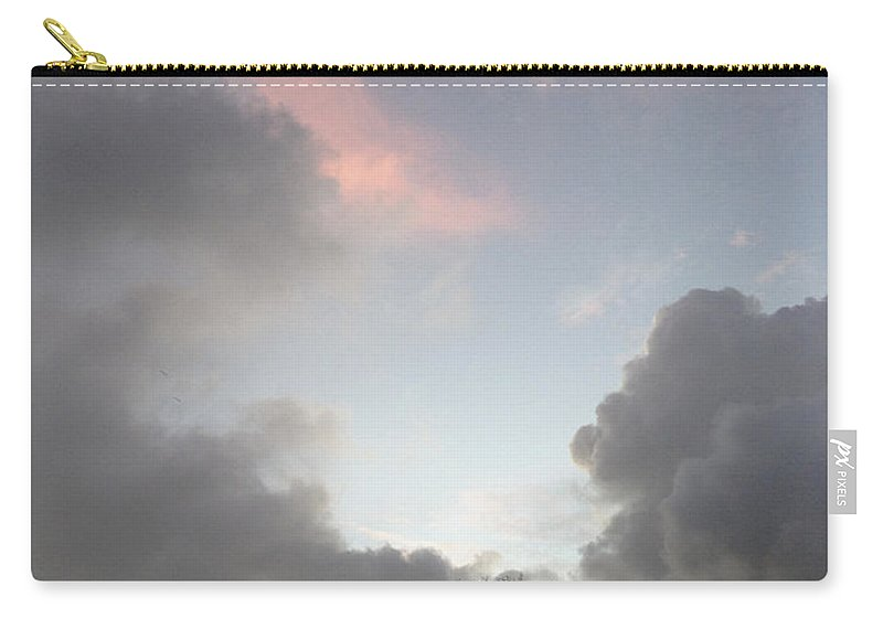 Vertical Carry-all Pouch featuring the photograph Morning Sky by Les Cunliffe