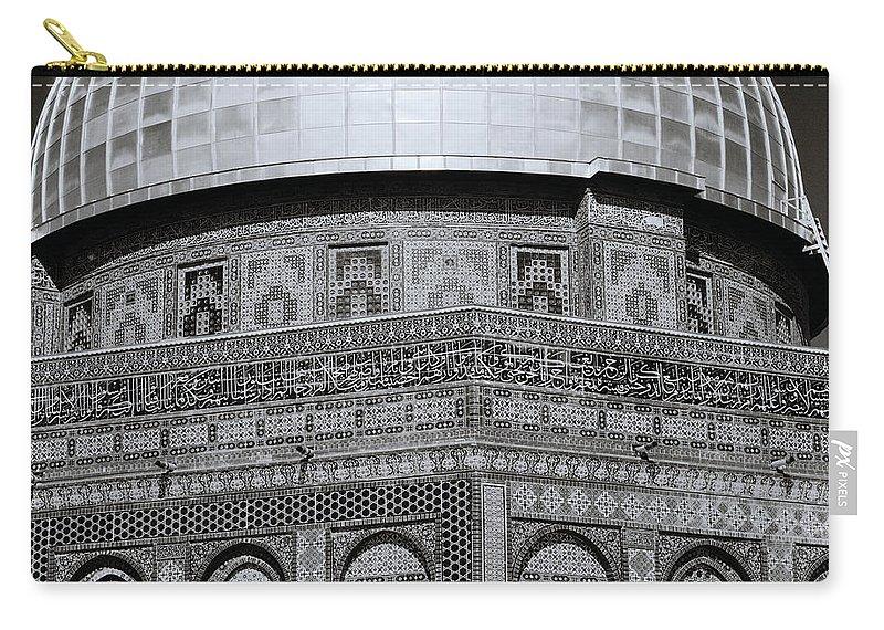 Jerusalem Carry-all Pouch featuring the photograph Jerusalem Mosaic by Shaun Higson