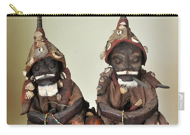 Men Carry-all Pouch featuring the photograph Nap Time by Jay Milo