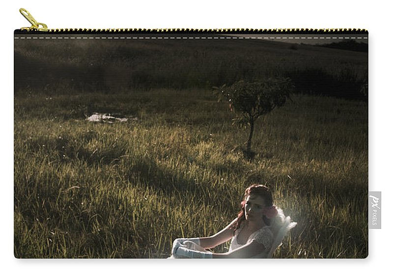 Adult Carry-all Pouch featuring the photograph New Beginning by Jorgo Photography - Wall Art Gallery