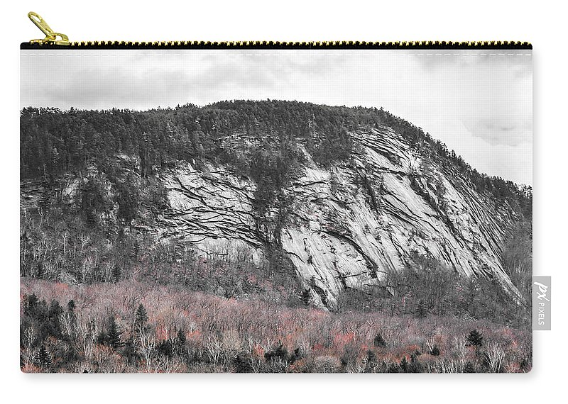 New Hampshire Carry-all Pouch featuring the photograph New Hampshire Mountain by Sherman Perry