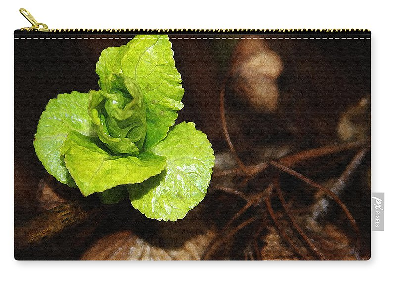 Photography Carry-all Pouch featuring the painting New Life by Jennifer Muller