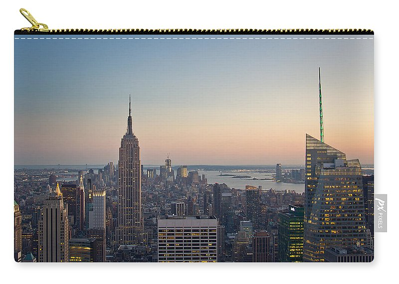 Esb Carry-all Pouch featuring the photograph New York City - Empire State Building by Thomas Richter