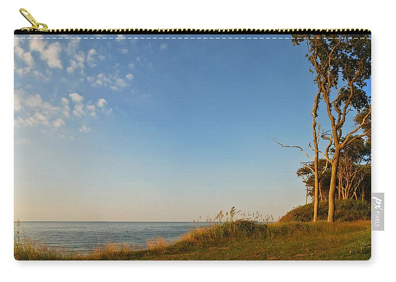 Ostsee Carry-all Pouch featuring the pyrography Nienhagen by Steffen Gierok