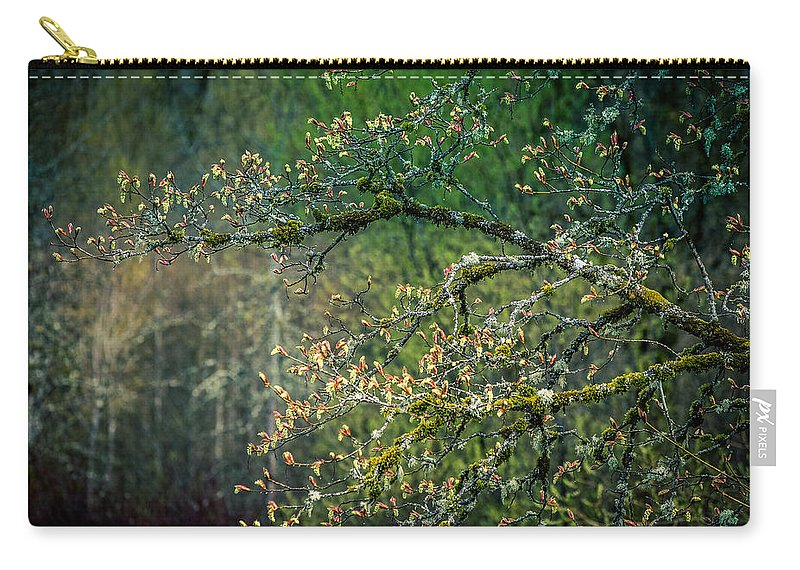 Nisqually Wildlife Refuge Carry-all Pouch featuring the photograph Nisqually Wildlife Refuge by Mike Penney