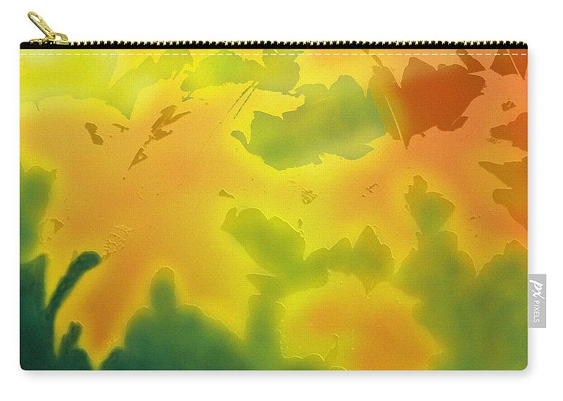 Fall Carry-all Pouch featuring the digital art October by Ian MacDonald