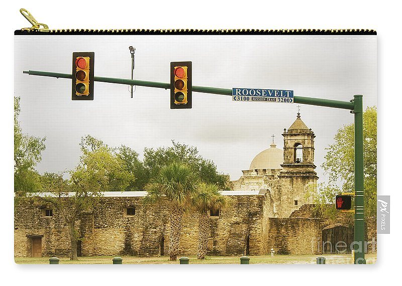 Old Carry-all Pouch featuring the photograph Old Meets New by Gary Richards