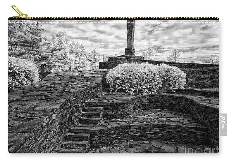 Ir Carry-all Pouch featuring the photograph Opus 40 by Claudia Kuhn