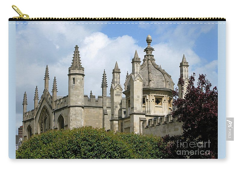 Oxford Carry-all Pouch featuring the photograph Oxford Spires by Ann Horn