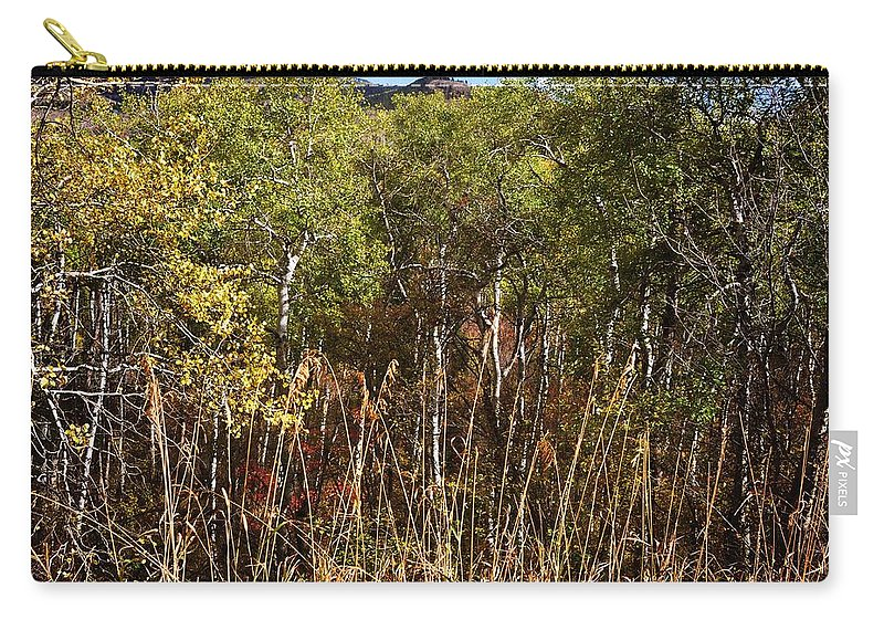 Palisades Carry-all Pouch featuring the photograph Palisades by Image Takers Photography LLC