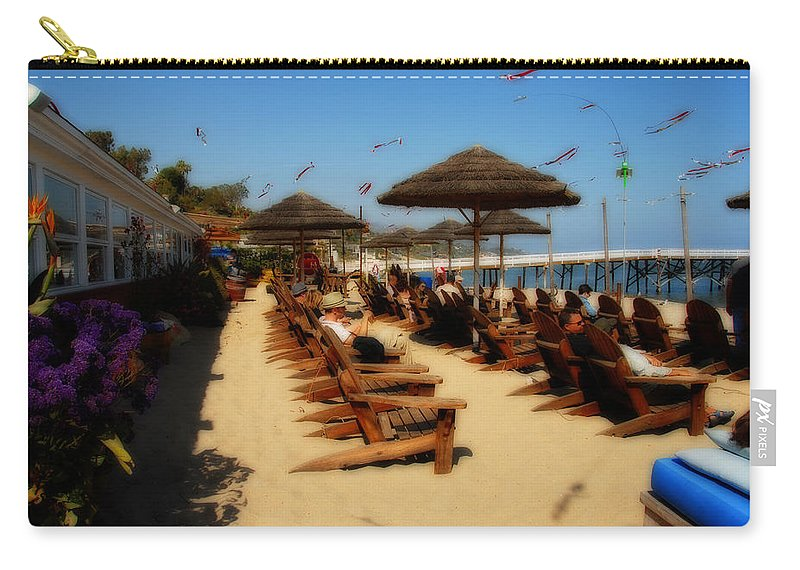 Paradise Carry-all Pouch featuring the photograph Paradise by Lynn Bauer