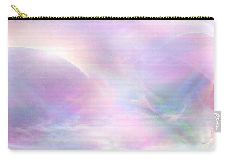 Phil Sadler Carry-all Pouch featuring the digital art Past Tales by Phil Sadler