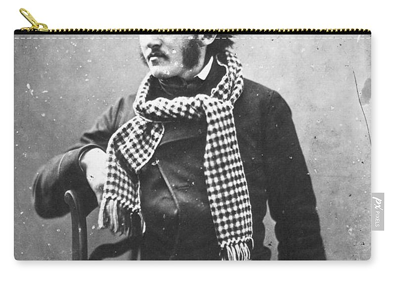 1855 Carry-all Pouch featuring the photograph Paul Gustave Dor� (1833-1883) by Granger