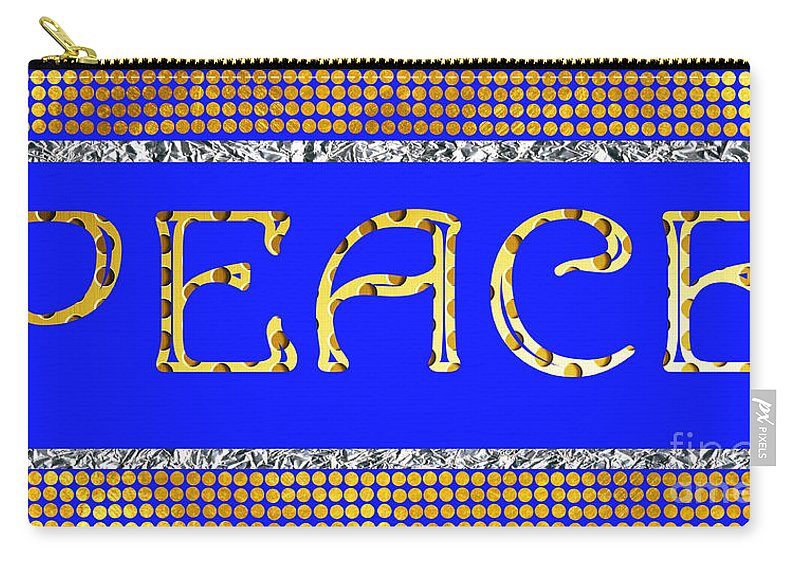 Eace Carry-all Pouch featuring the photograph Peace by Mariola Bitner