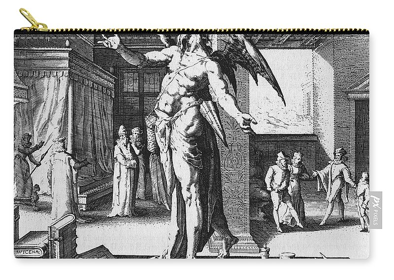 1587 Carry-all Pouch featuring the photograph Physician As Devil by Granger