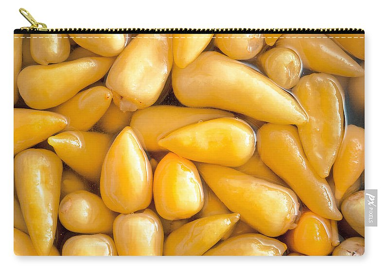 American Carry-all Pouch featuring the photograph Pickled Peppers by Tom Gowanlock