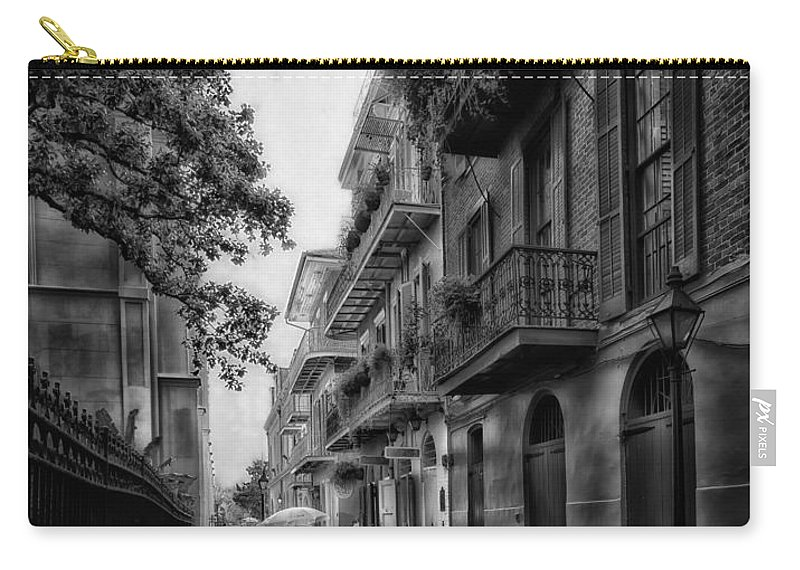 New Orleans Carry-all Pouch featuring the photograph Pirate's Alley In New Orleans by Mountain Dreams