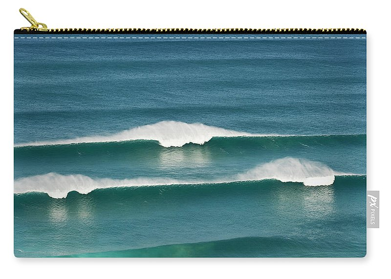 Algarve Carry-all Pouch featuring the photograph Portugal, Algarve, Sagres, View Of by Westend61