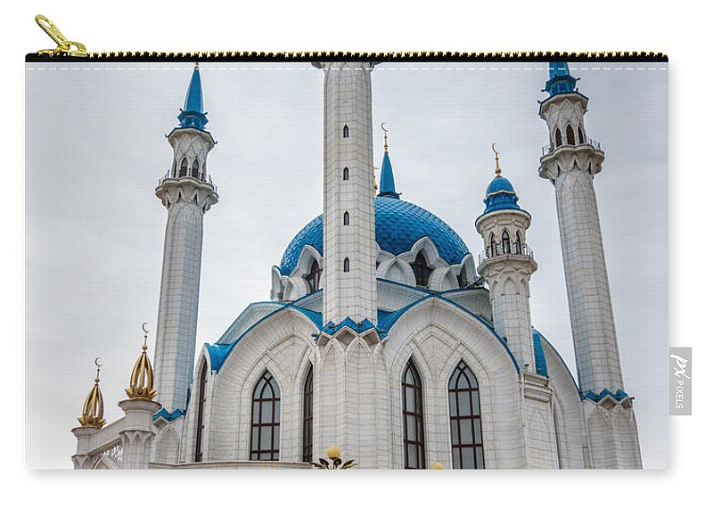 Islam Carry-all Pouch featuring the photograph Qolsharif Mosque by Alexey Stiop