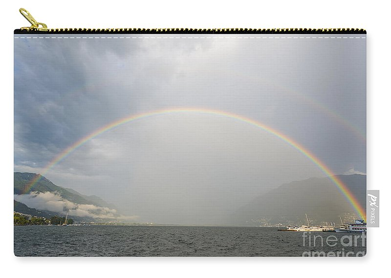 Rainbow Carry-all Pouch featuring the photograph Rainbow by Mats Silvan