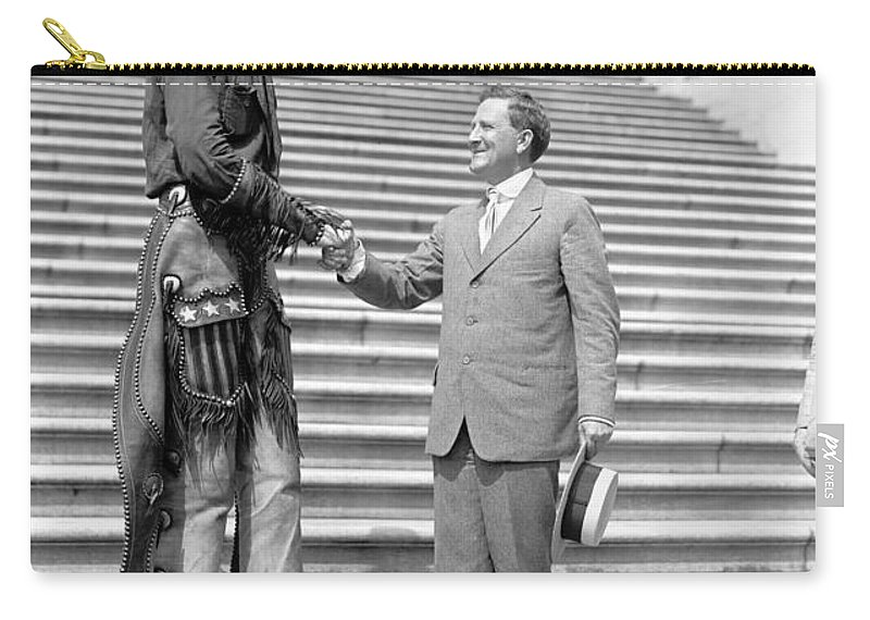 1919 Carry-all Pouch featuring the photograph Ralph E by Granger