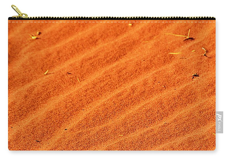 Red Dune Carry-all Pouch featuring the photograph Red Dune by Douglas Barnard