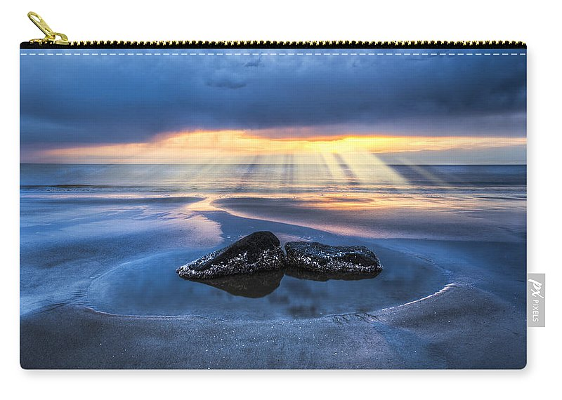 Boats Carry-all Pouch featuring the photograph Renewal by Debra and Dave Vanderlaan