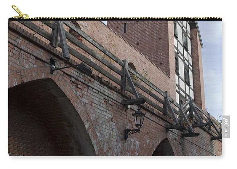 Travel Carry-all Pouch featuring the photograph Riga Old City Walls by Jason O Watson