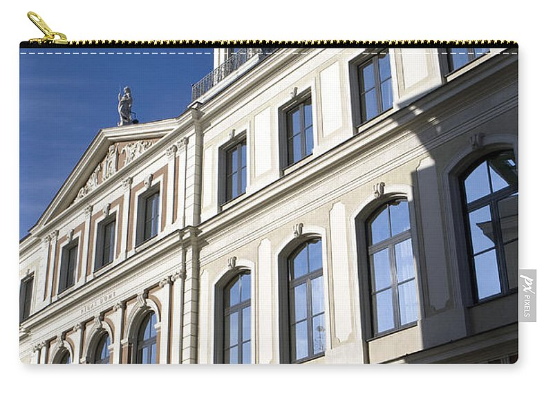 Travel Carry-all Pouch featuring the photograph Riga Town Hal by Jason O Watson