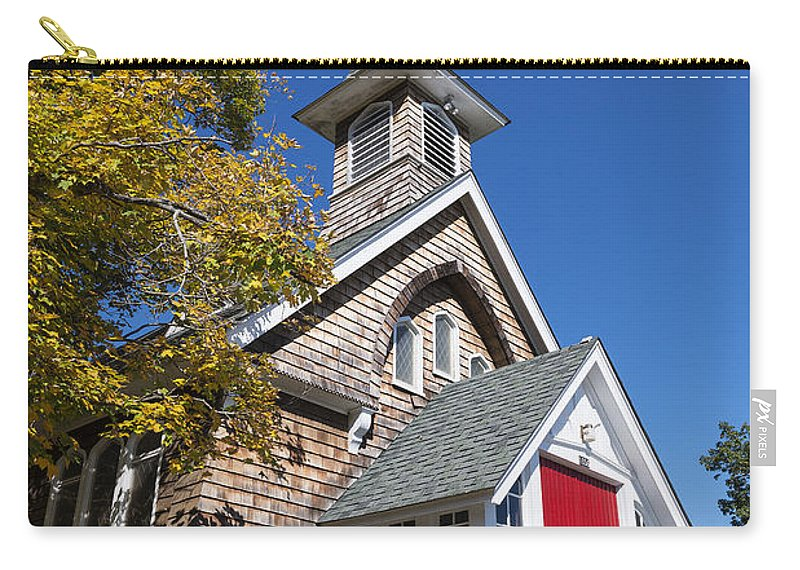 Episcopal Carry-all Pouch featuring the photograph Rural Church by John Greim