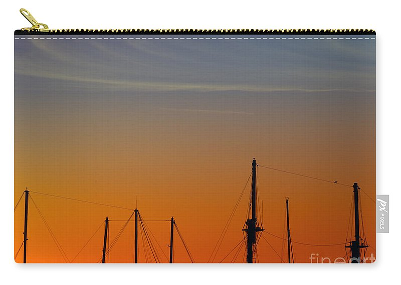 Sea Carry-all Pouch featuring the photograph Sailing Boats by Stelios Kleanthous