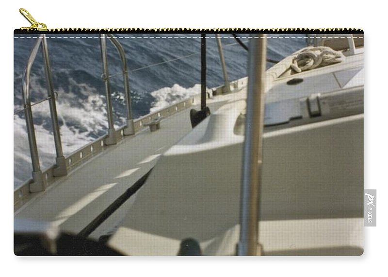 Sail Carry-all Pouch featuring the photograph Sailing by William Norton