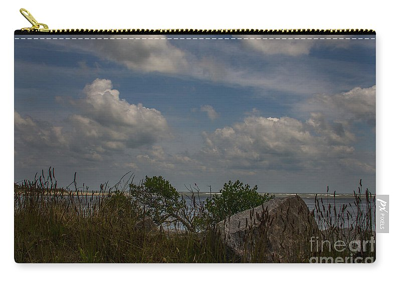 Breach Inlet Carry-all Pouch featuring the photograph Sea Grass by Dale Powell