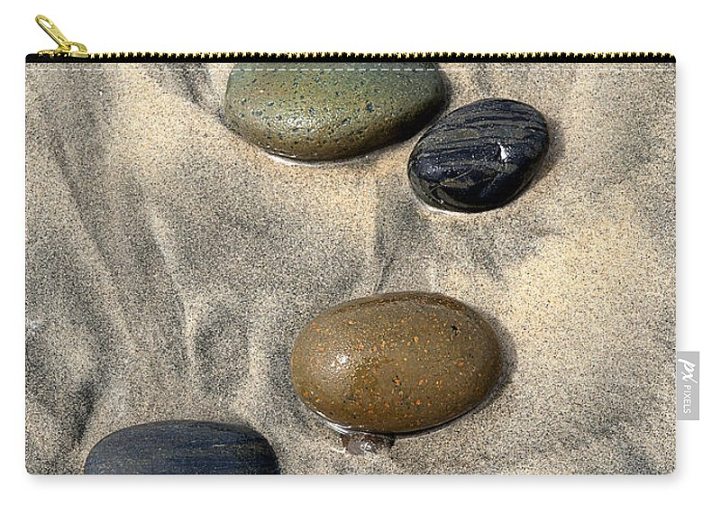 Beach Carry-all Pouch featuring the photograph Seven by Joe Schofield
