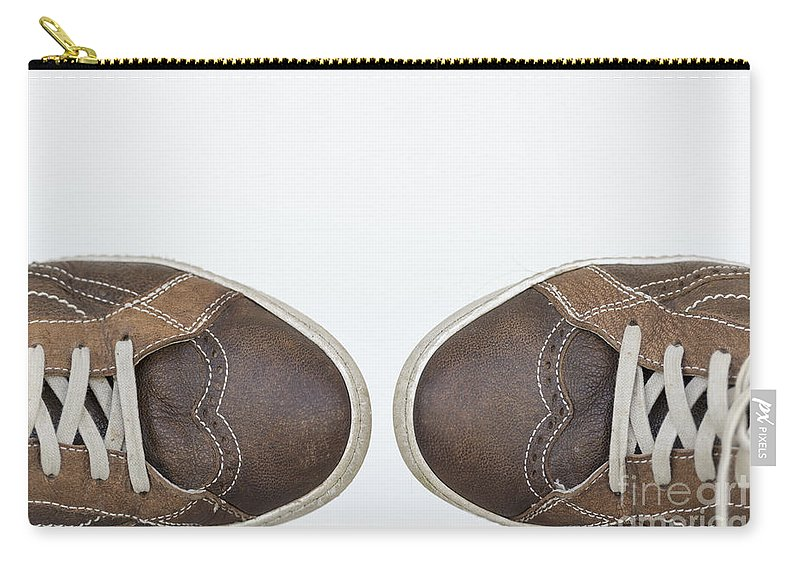 Shoe Carry-all Pouch featuring the photograph Shoes by Mats Silvan