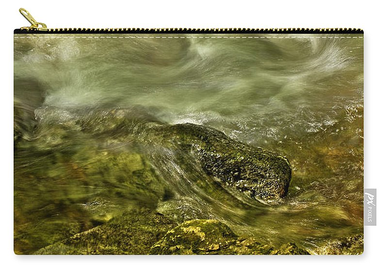 Photographic Images Carry-all Pouch featuring the photograph Shoreline by Phill Doherty