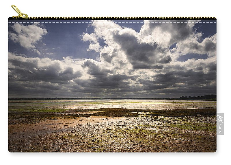 Bay Carry-all Pouch featuring the photograph Shoreline by Svetlana Sewell