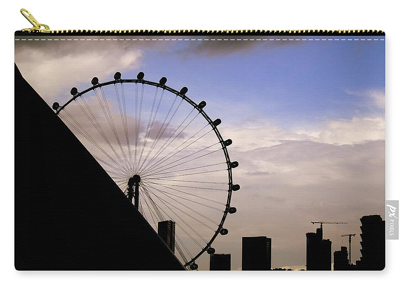 Singapore Carry-all Pouch featuring the photograph Singapore Cityscape by Jijo George