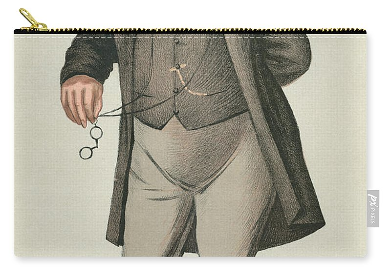 1873 Carry-all Pouch featuring the photograph Sir William Jenner by Granger