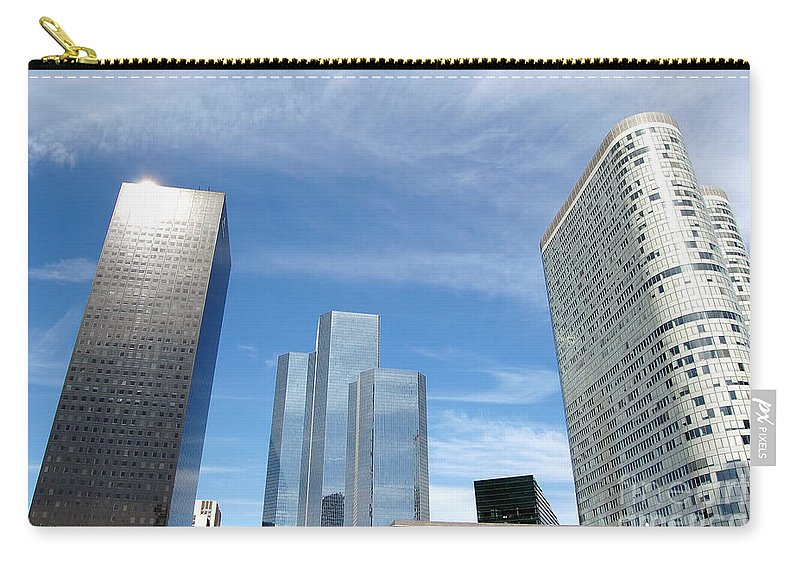 Architectural Carry-all Pouch featuring the photograph Skyscrapers by Michal Bednarek