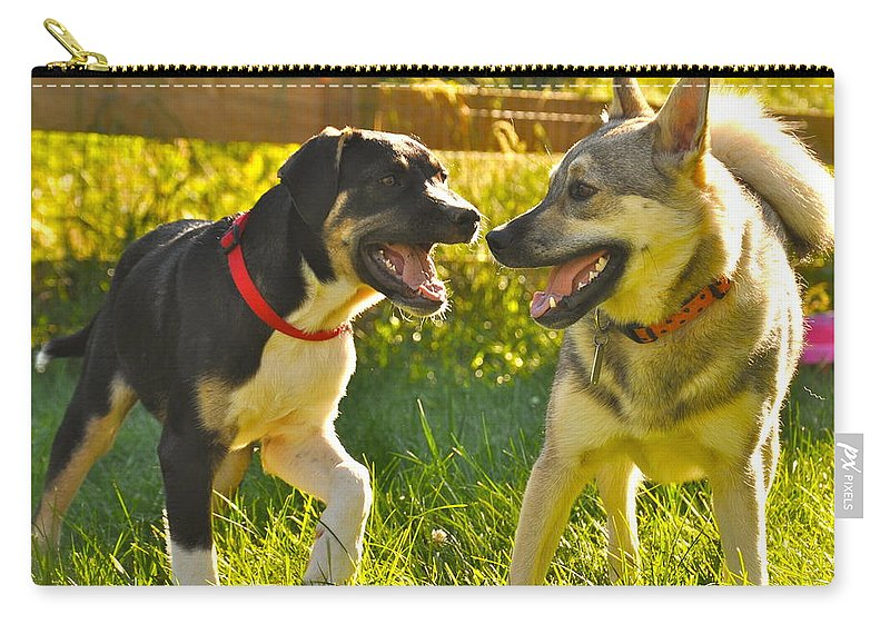 Animal Carry-all Pouch featuring the photograph Smiles by Christina McKinney