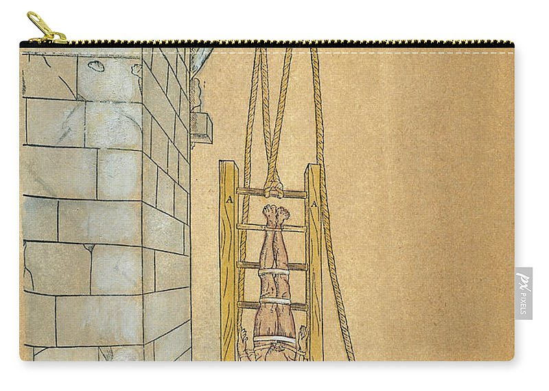 1544 Carry-all Pouch featuring the photograph Spine Treatment, 1544 by Granger