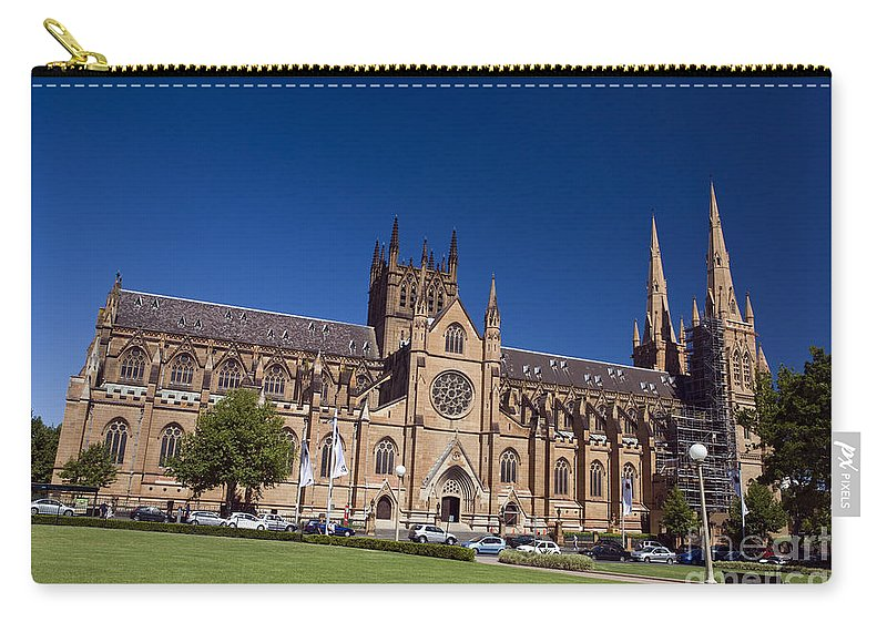 Travel Carry-all Pouch featuring the photograph St. Mary's Cathedral by Jason O Watson