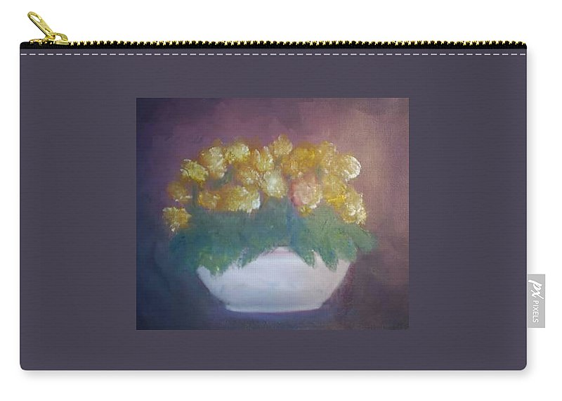 Still Life Carry-all Pouch featuring the painting Still Life by Sheila Mashaw