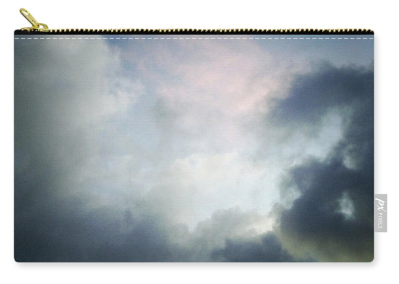 Clouds Carry-all Pouch featuring the photograph Storm Clouds by Les Cunliffe