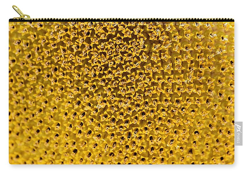 Sunflower Carry-all Pouch featuring the photograph Sunflower by Dan Sproul