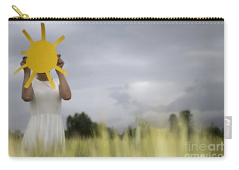 Woman Carry-all Pouch featuring the photograph Sunshine by Mats Silvan