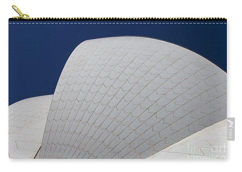 Sydney Opera House Carry-all Pouch featuring the photograph Sydney Opera House Roof Tiles by Jason O Watson