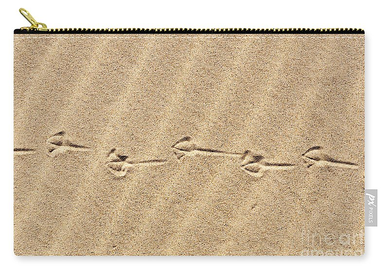 Dunes Carry-all Pouch featuring the photograph Take A Walk by Verana Stark